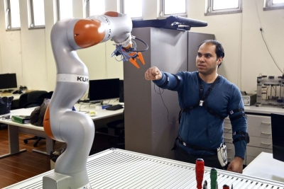 Mohammad shines in robotics in Coimbra