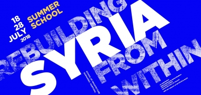 "Summer School on ""Rebuilding Syria from Within"""