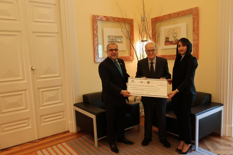 United Arab Emirates supports Syrian Students