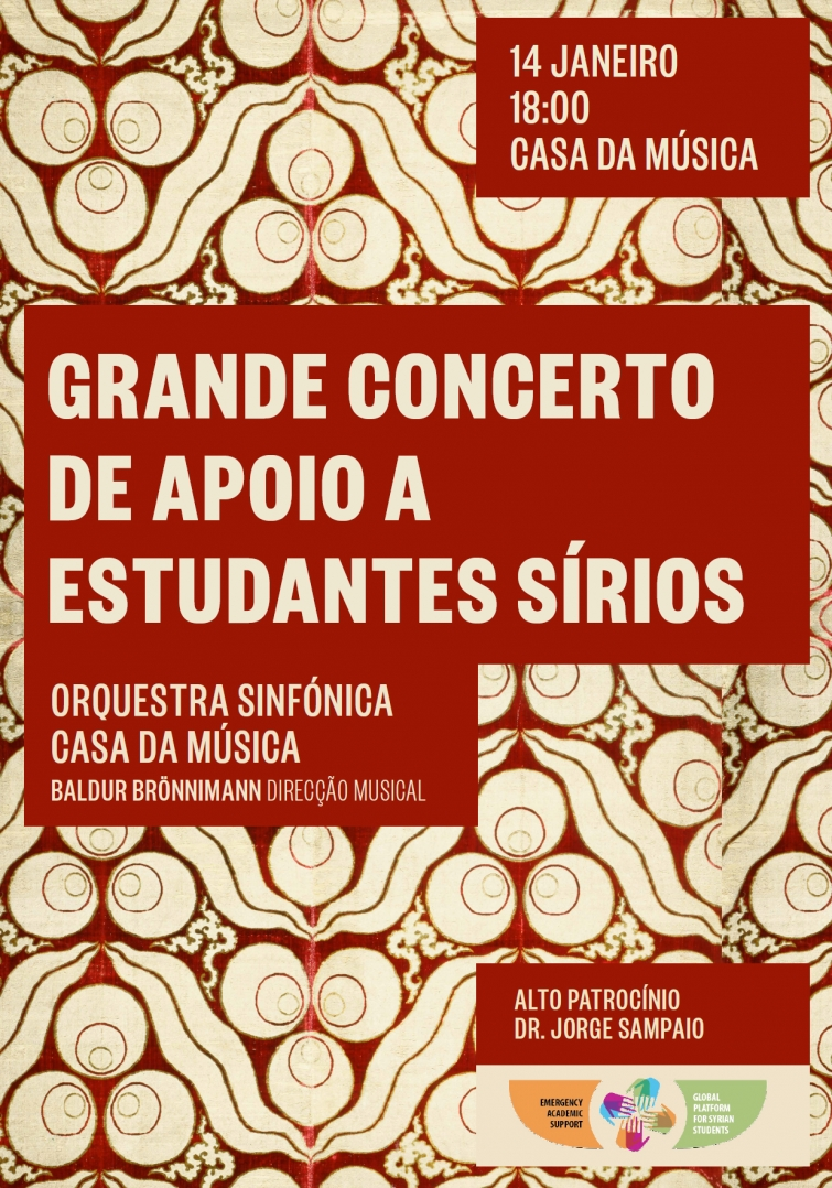 Breaking News!: Porto Symphonic Orchestra Concert to Support Syrian Students.
