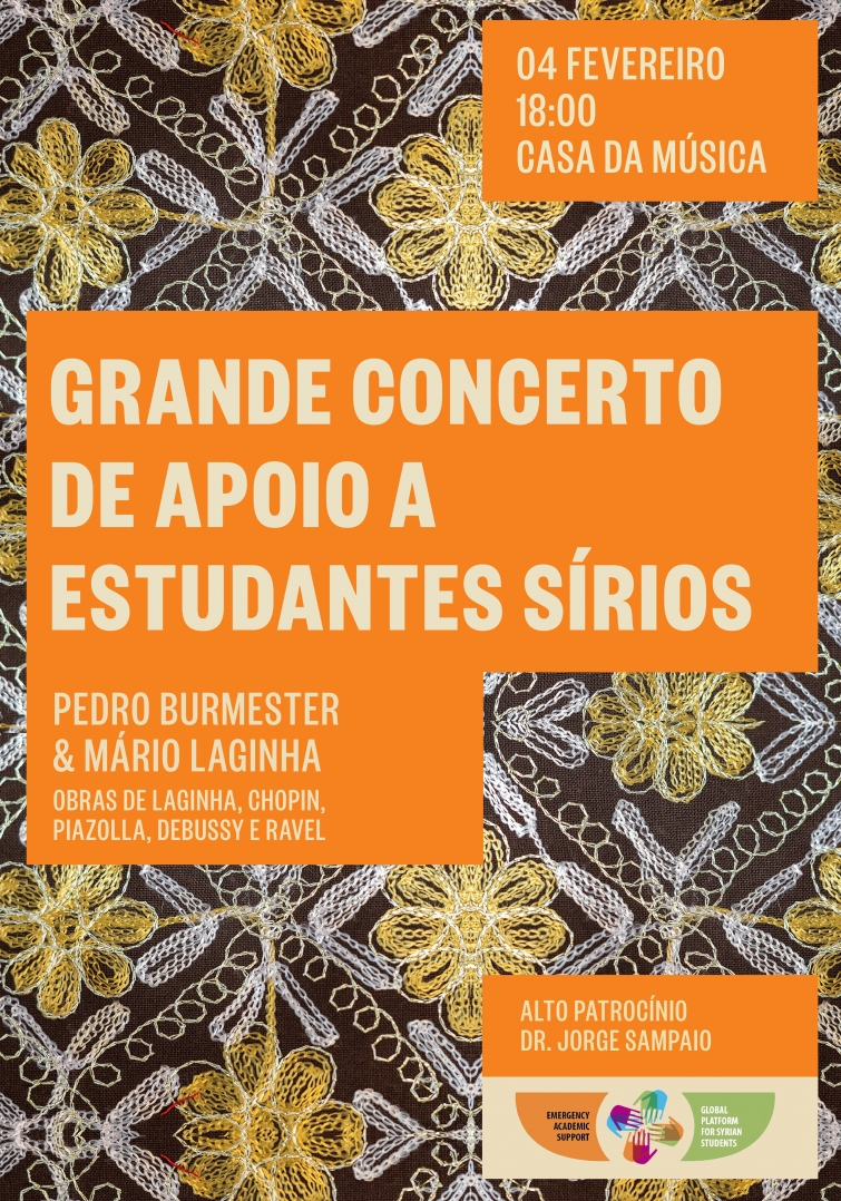 Concert to Support Syrian Students at Casa da Música